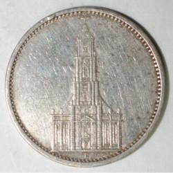 GERMANY - KM 83 - 5 REICHSMARK 1935 A - Berlin