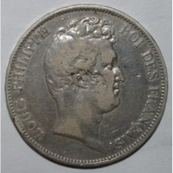 FRANCE - KM 738 - 5 FRANCS 1830 A - Paris - TYPE LOUIS PHILIPPE WITHOUT THE 'I' - RAISED LETTERING EDGE