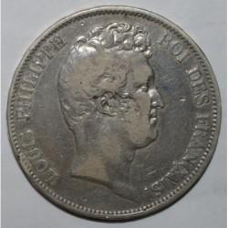GADOURY 675a - 5 FRANCS 1830 A - Paris - TYPE LOUIS PHILIPPE SANS LE I - TRANCHE EN RELIEF