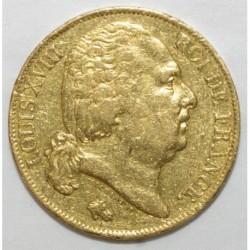 GADOURY 1028 - 20 FRANCS 1817 Q - OR - BUSTE NU - TTB