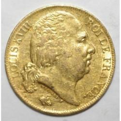 GADOURY 1028 - 20 FRANCS 1817 A - OR - BUSTE NU - TTB