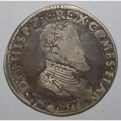 FLANDRE - PHILIPPE II - 1/2 PATAGON - 1566