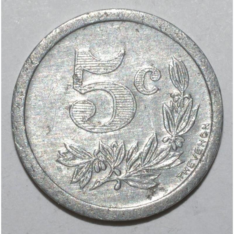 Ardennes 08 5 centimes 1921 sedan charleville - Chambre de commerce charleville ...