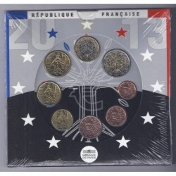 FRANCE - COIN SET BU EURO 2013 - 8 COINS - MONNAIE DE PARIS