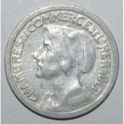 HERAULT ( 34 ) - 25 CENTIMES 1921 - 1924 - CHAMBRE DE COMMERCE - SUP-