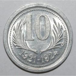 HERAULT ( 34 ) - 10 CENTIMES 1921 - 1924 - CHAMBRE DE COMMERCE - SPL