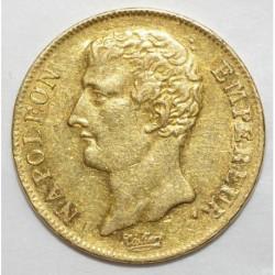 GADOURY 1021 - 20 FRANCS AN 12 A - OR - NAPOLEON EMPEREUR - PRESQUE SUPERBE