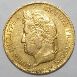 FRANCE - KM 747 - 40 FRANCS 1834 A - Paris - LOUIS PHILIPPE 1st
