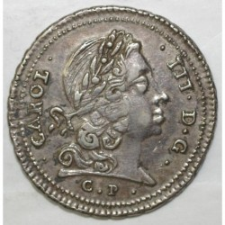 ITALY - SICILE - 4 TARI 1732 - CAROL III - RARE