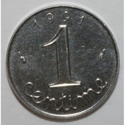 GADOURY 91 - 1 CENTIME 1991 TYPE EPI - FRAPPE MONNAIE - KM 928