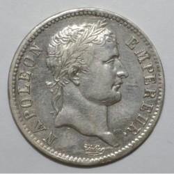 GADOURY 446 - 1 FRANC 1808 A TYPE NAPOLEON 1er - VARIETE - TTB+ - KM 682.1