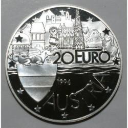 AUTRICHE - KM X 39 - 20 EURO 1996 - 1000ème anniversaire de la fondation de l'Autriche