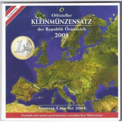AUTRICHE - COFFRET EURO BRILLANT UNIVERSEL  2008