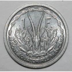 AFRIQUE EQUATORIALE - UNION FRANCAISE - 1 FRANC 1948 - SUPERBE
