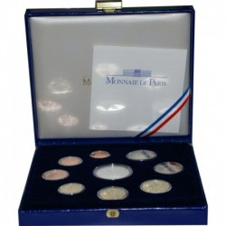 FRANCE - COFFRET BELLE EPREUVE EURO 2007