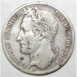 BELGIUM - KM 3.1 - 5 FRANCS 1835 - LEOPOLD 1er - TRANCHE A - TTB
