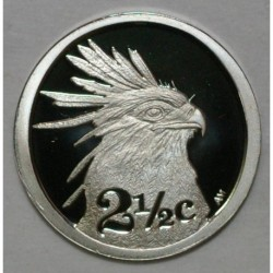 SOUTH AFRICA - 2 1/2 CENTS 2006 - SERPENTAIRE - BELLE EPREUVE