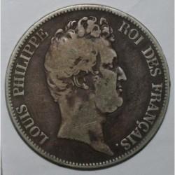 GADOURY 675 - 5 FRANCS 1830 B - Rouen - TYPE LOUIS PHILIPPE SANS LE I - KM 737