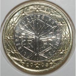 FRANCE - 1 EURO 2003 - ARBRE - FLEUR DE COIN