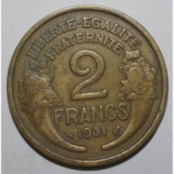 GADOURY 535 - 2 FRANCS 1931 TYPE MORLON - KM 886
