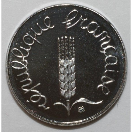 FRANCE - KM 928 - 1 CENTIME 1991 TYPE EAR OF WHEAT