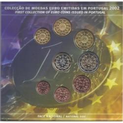 PORTUGAL - COFFRET EURO BRILLANT UNIVERSEL 2002 - 8 PIECES (3.88 euros)