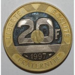 GADOURY 871a - 20 FRANCS 1997 TYPE MONT SAINT MICHEL TRANCHE LISSE - BE
