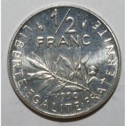 GADOURY 429 - 1/2 FRANC 1990 TYPE SEMEUSE - SUP A FDC - KM 931.1