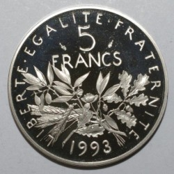 FRANCE - KM 926a.2 - 5 FRANCS 1993 TYPE SOWER