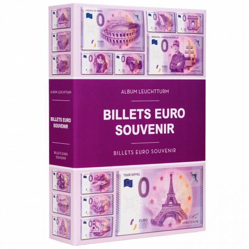 Album Pour 420 Billets Euro Souvenir Ref 349260