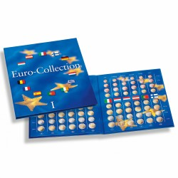 ALBUM NUMISMATIQUE PRESSO POUR SERIES EURO - EURO-COLLECTION TOME 1 - REF 324353