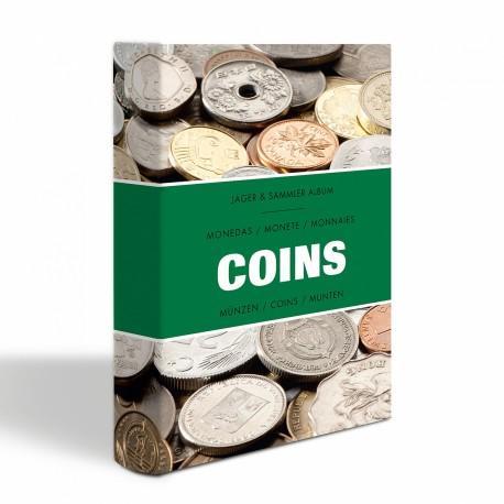 """ALBUM DE POCHE """"COINS"""" POUR 48 MONNAIES - REF 344961"""