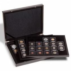 VOLTERRA TRIO DE LUXE PRESENTATION CASE FOR 60 COIN HOLDERS 2X2 OR QUADRUM - REF 347919