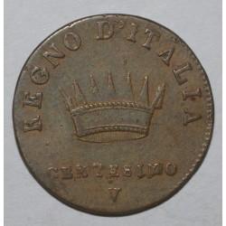 ITALY - 1 CENTESIMO 1810 - NAPOLEON 1er - TRES TRES BEAU