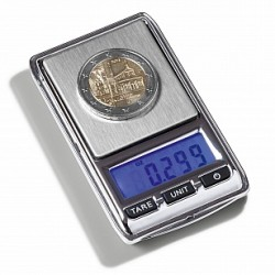 LIBRA MINI DIGITAL COIN SCALE, 0.01 - 100 G - REF 344222