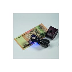 10X PRECISION MAGNIFIER WITH LED AND UV LAMP - REF 338881