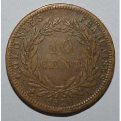 GUYANE - 10 CENT 1828 A - CHARLES X - TRES TRES BEAU