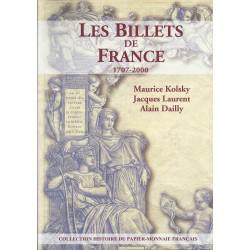 LES BILLETS DE FRANCE - 1707 - 2000 - REF 1848
