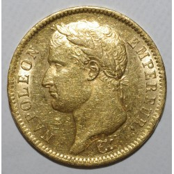GADOURY 1084 - 40 FRANCS 1811 A - OR - REVERS EMPIRE - TTB - KM 696.1