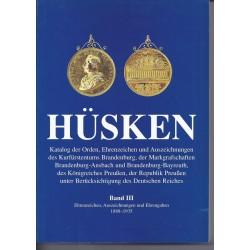 HÜSKEN PREUSSEN - 1888 - 1935 - BAND III