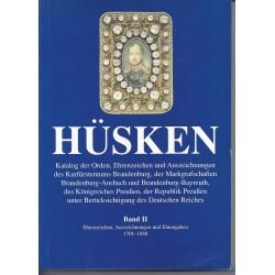 HÜSKEN PREUSSEN - 1701 - 1888 - BAND II