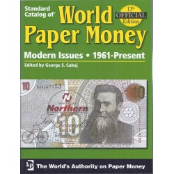 WORLD PAPER MONEY BILLETS DU MONDE DE 1961 A 2007 - 13ème Ed