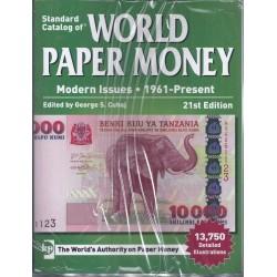 WORLD PAPER MONEY BILLETS DU MONDE DEPUIS 1961 - 21 ème Ed 2016