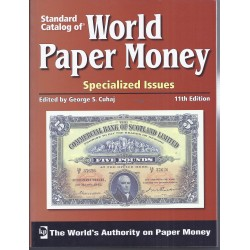 WORLD PAPER MONEY EMISSIONS SPECIALISEES DEPUIS 1368 - 11EME EDITION