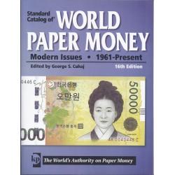 WORLD PAPER MONEY BILLETS DU MONDE DEPUIS 1961 - 16 ème Ed 2010/2011