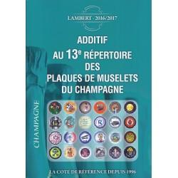 13ème REPERTOIRE DES MUSELETS DE CHAMPAGNE - ADDITIF - 2016/2017