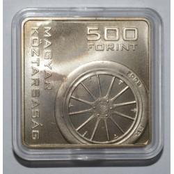 HUNGARY - 500 FORINT 2005 - AUTO - FLEUR DE COIN