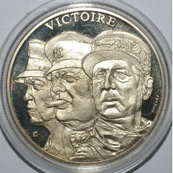 FRANCE - MÉDAILLE - SECONDE GUERRE MONDIALE 1939-1945 - VICTOIRE