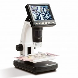 LCD DIGITAL MICROSCOPE, 10-500X MAGNIFICATION - REF 346680