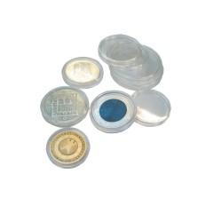 CAPSULES POUR PIECES DE 2 EUROS X 25 - REF 6726E/SAFE